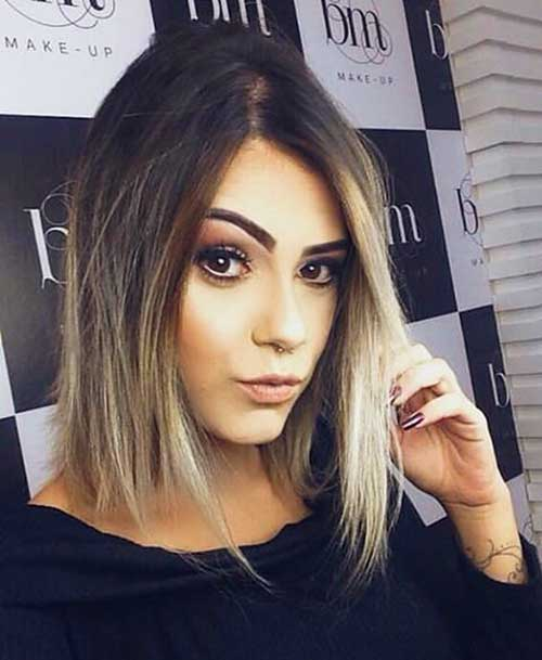Ombre-Bob-Hairstyle-1 Best Short Hairstyle Ideas for Oval Faces