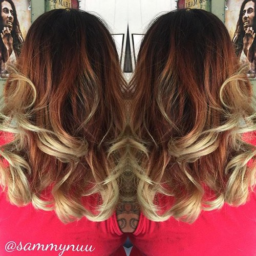 Ombre-Curls New Hairstyles and Hair Color Ideas for Fall