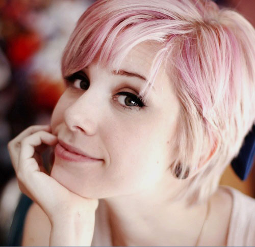 Pink-blonde-hair-color-ideas Best Short Hair Color Trends 2019