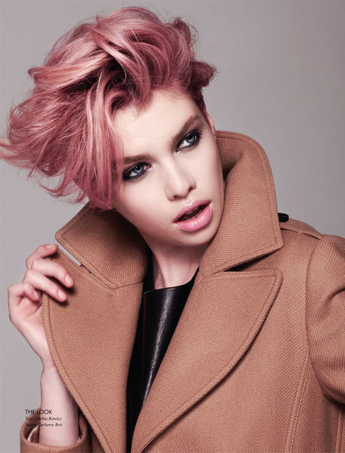 Pink-scene-hair-color-ideas Best Short Hair Color Trends 2019
