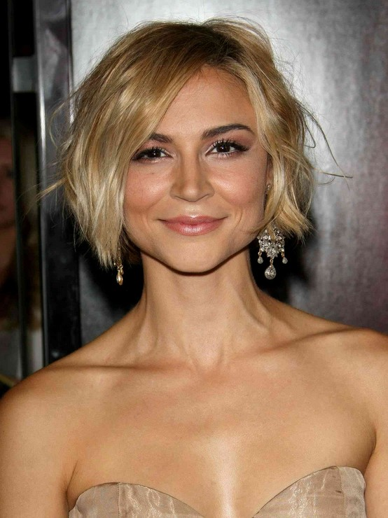 Samaire-Armstrong-Short-Haircut Chic Short Cuts You Should Not Miss - Short Hair Trends for 2019