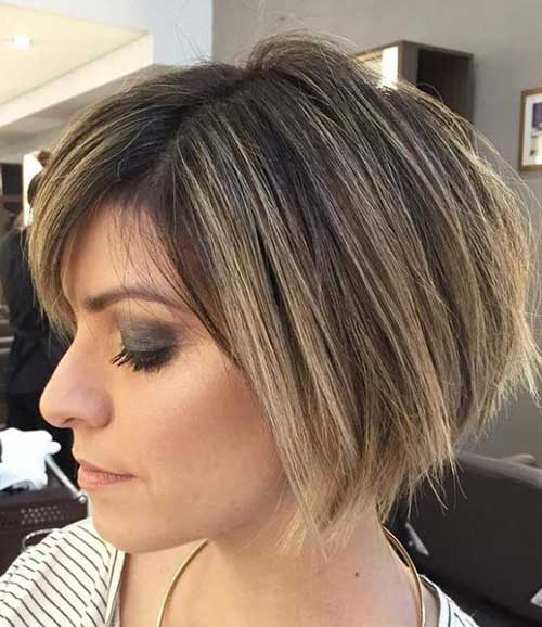 Short-Bob-Cut Short Hairstyles for Women Over 40 to Explore New Look