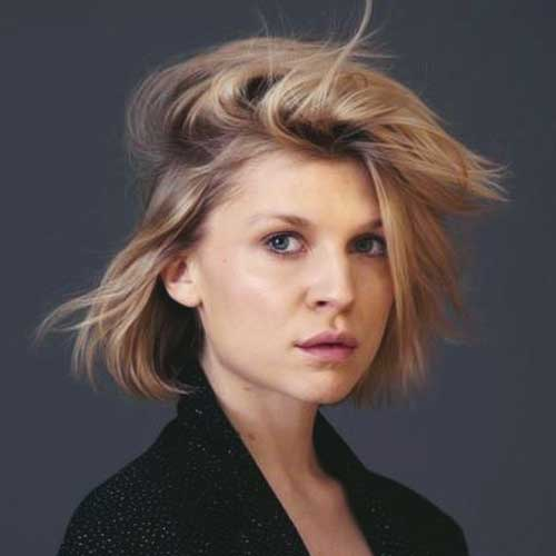 Short-Casual-Messy-Hair Messy Hairstyles for Short Hair