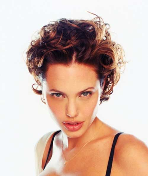 Short-Curly-Messy-Sexy-Curls Messy Hairstyles for Short Hair