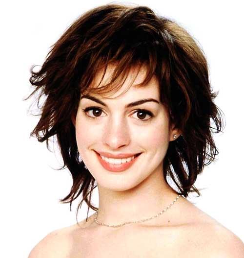 Short-Cute-Voluminous-Messy-Hair Messy Hairstyles for Short Hair
