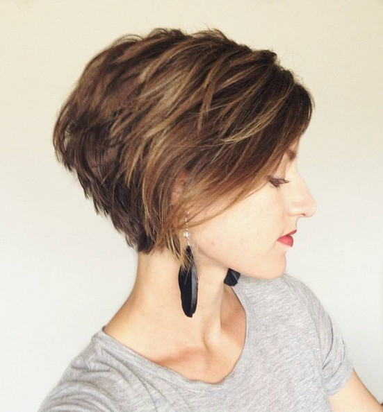 Short-Layered-Haircut-for-Girls Modern Bob Hairstyles for 2019 – Best Bob Haircut Ideas