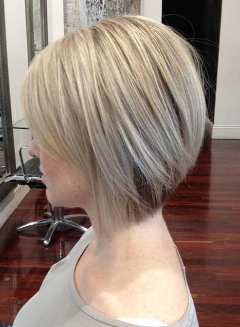 Side-View-of-Short-Bob-Hairstyle Short Bob Haircuts: Hottest Bob Hairstyles 2019