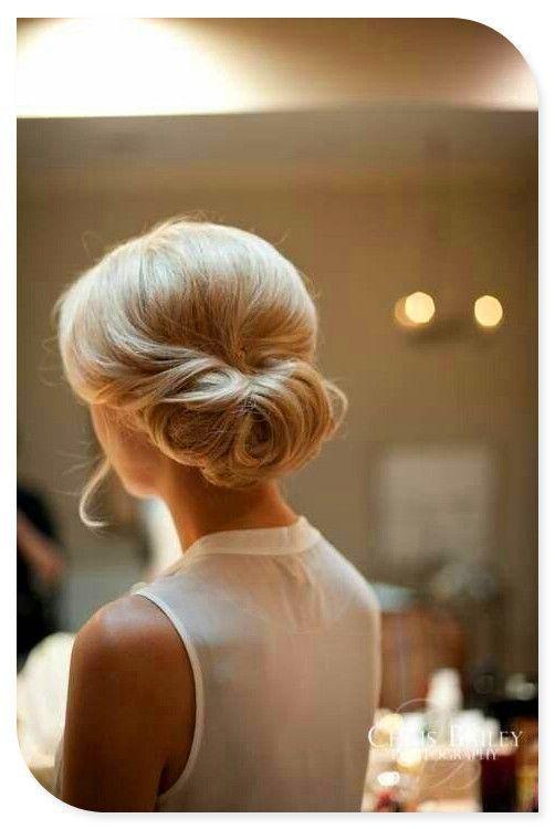 Simple-Wedding-Updo Glamorous Wedding Updos for 2019