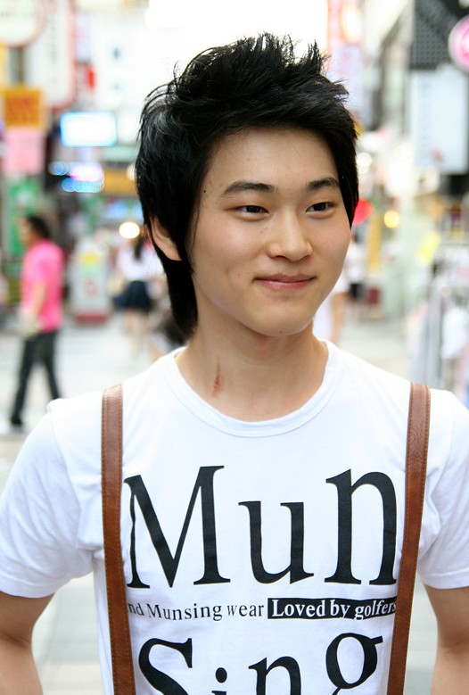 Spiky-Short-Haircut-for-Japanese-Guys Cool Korean and Japanese Hairstyles for Asian Guys