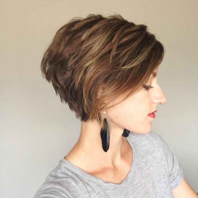 Stacked-Bob-Haircut Trendiest Bob Haircuts for Women