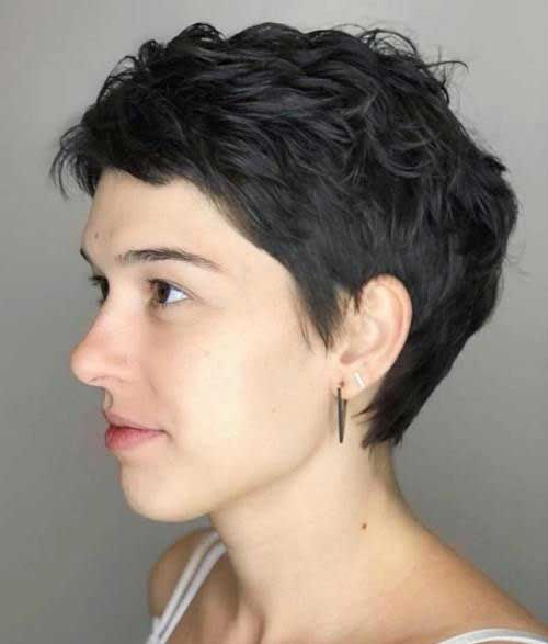 Textured-Pixie-Cut Pixie Hairstyles for the Best View