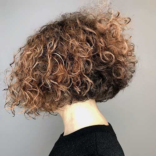 Thick-Hair Best Short Haircuts for Women with Curly Hair