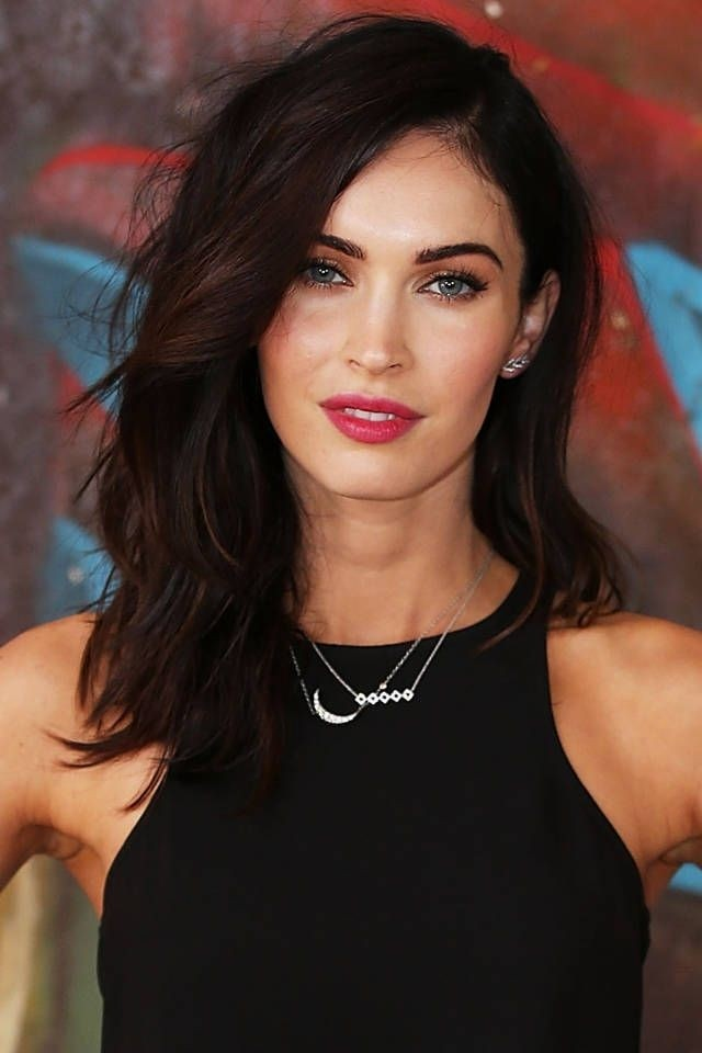 Tousled-Medium-Hairstyle-for-Brunette-Hair Great Hairstyles for Medium Length Hair 2019