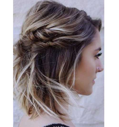 Twisted-Updo Short Formal Hairstyles with Hottest Way