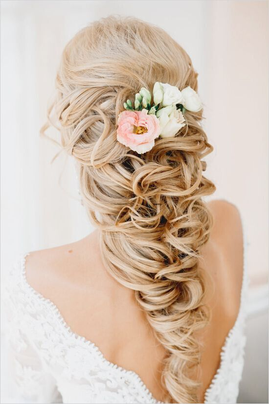 Wedding-Hairstyle-for-Long-Blond-Hair Super Charming Wedding Hairstyles for 2019