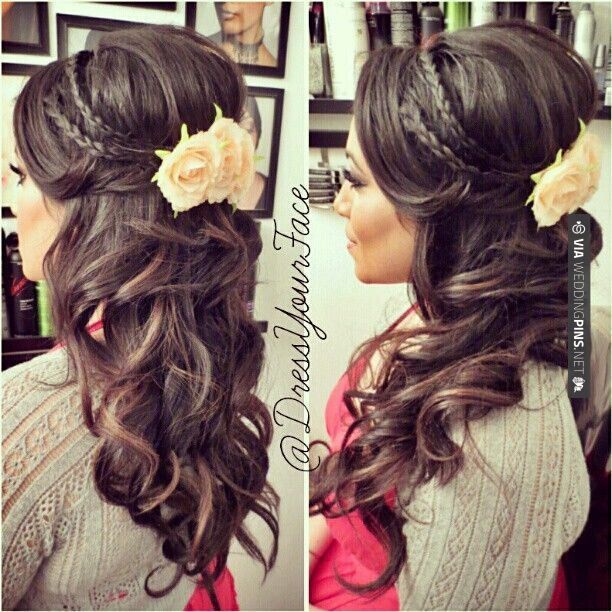 Wedding-Hairstyle-with-Braids Super Charming Wedding Hairstyles for 2019