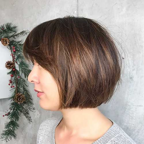 cute-short-layered-haircuts Popular Short Layered Hairstyle Ideas