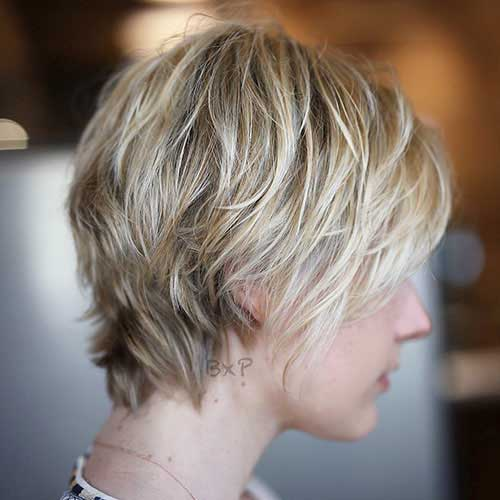 short-layered-bob-for-thin-hair-1 Popular Short Layered Hairstyle Ideas