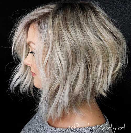short-layered-bob-for-thin-hair-2 Popular Short Layered Hairstyle Ideas