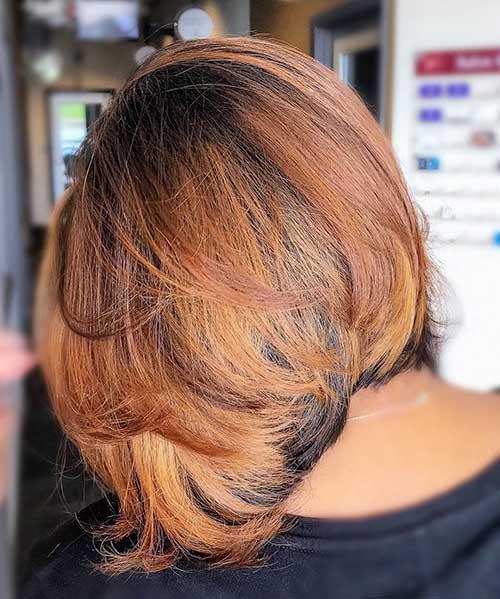 short-layered-bob Popular Short Layered Hairstyle Ideas