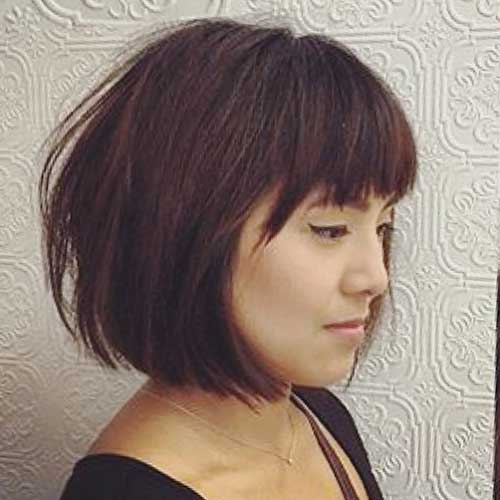 short-layered-hairstyles-with-bangs-2 Popular Short Layered Hairstyle Ideas
