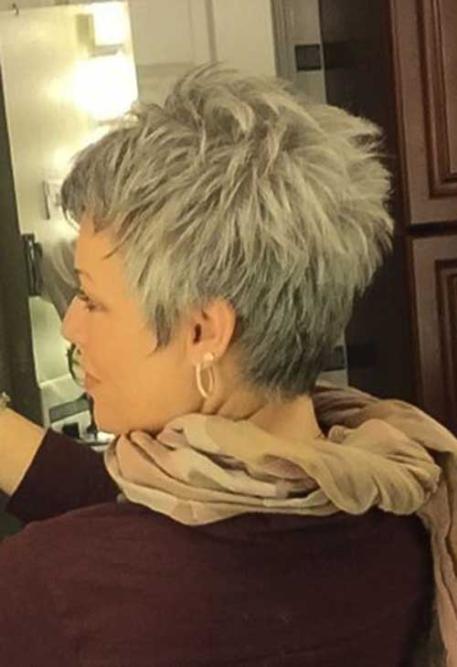 25.Pixie-Haircuts-for-Older-Ladies Cool Pixie Haircut for Older Ladies
