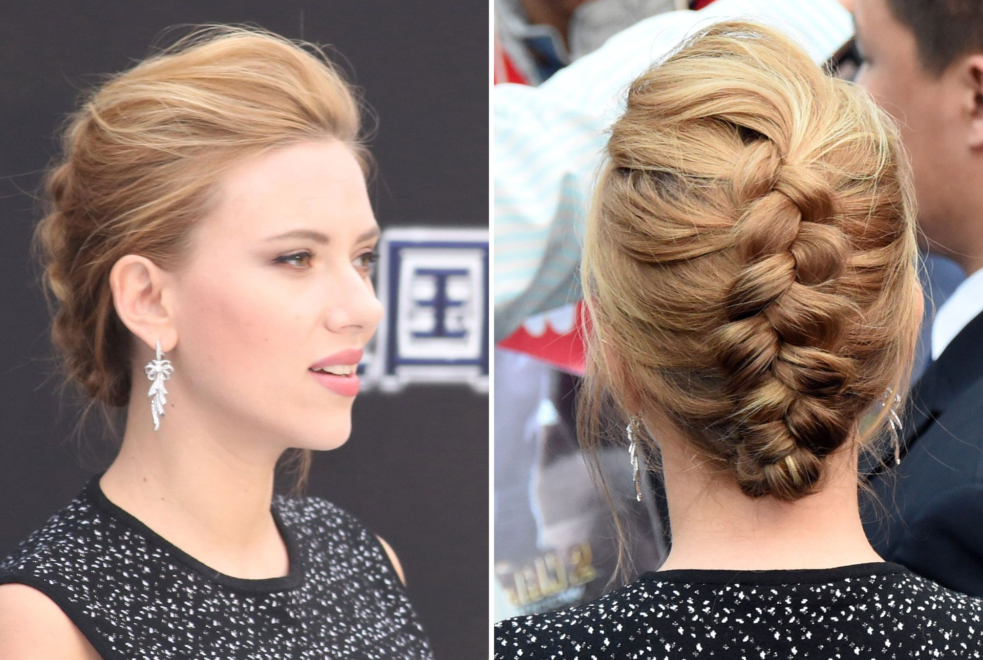 Aligned-Mid-Braid-Hairstyle Classy and Charming Hairstyles for Wedding Guest