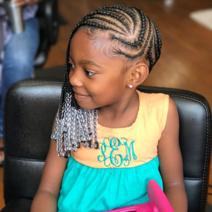 Beads-in-the-Hair Cute and Charismatic Black Girl Hairstyles