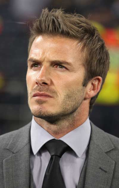 Beckham's-Signature-Short-Haircut David Beckham's Trendsetter Hairstyles