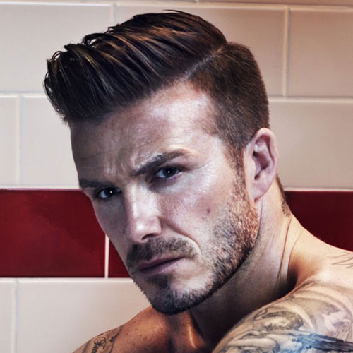Beckham-Comb-Over-Hairstyle David Beckham's Trendsetter Hairstyles