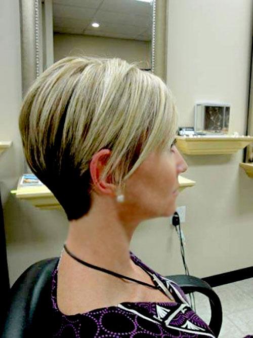 Blonde-dark-highlights-hair Best Short Hair Colors