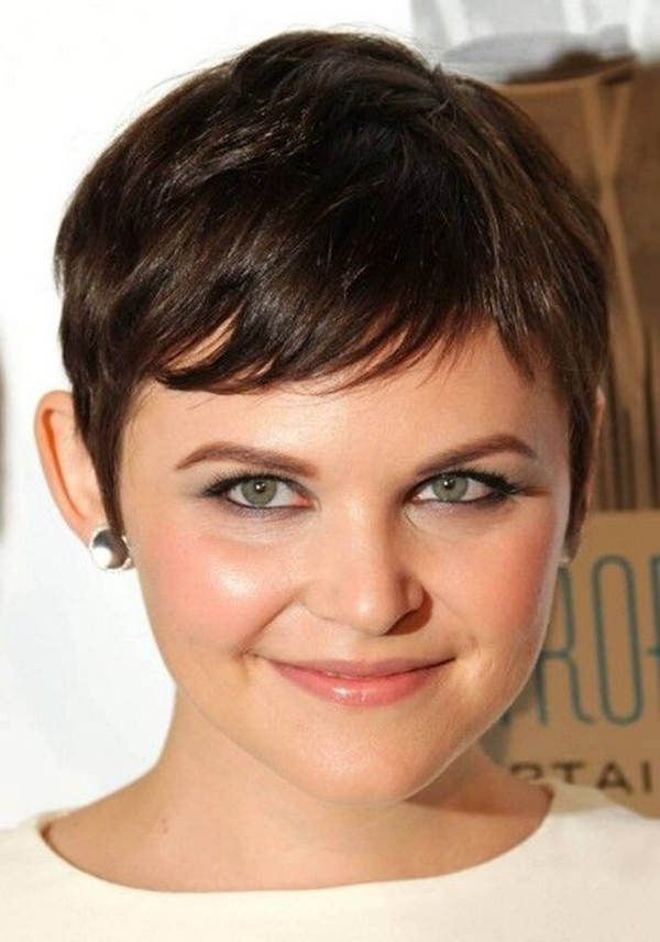 Boy-Cut-Hairstyle-for-Chubby-Face Glorious Short Hairstyles for Chubby Faces