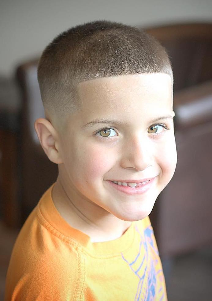 Buzz-Haircut-for-Boys Stylish and Trendy Boys Haircuts 2019