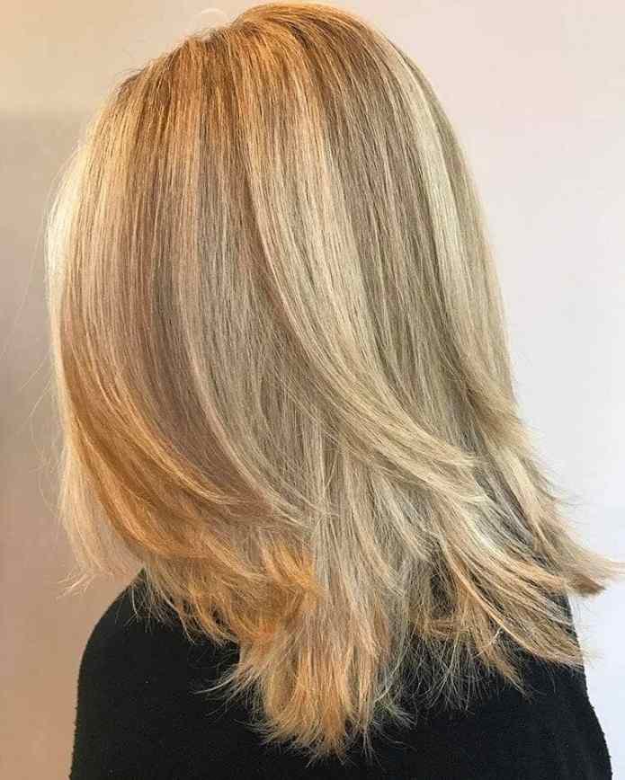 Chopped-and-Layered-Bob Simple Medium Hairstyles for Stunning Look