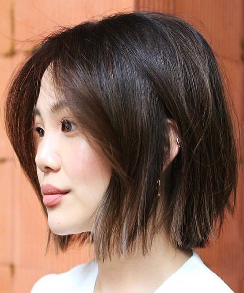 Choppy-Ends Top Short Hairstyles for Fine Thin Hair