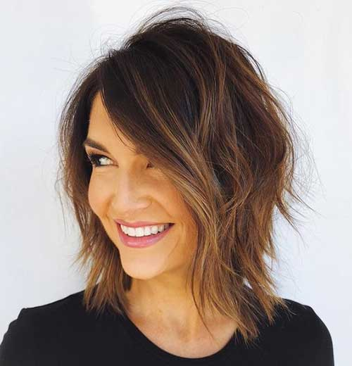 Choppy-Short-Haircut-2019 New Modern Short Haircuts for 2019