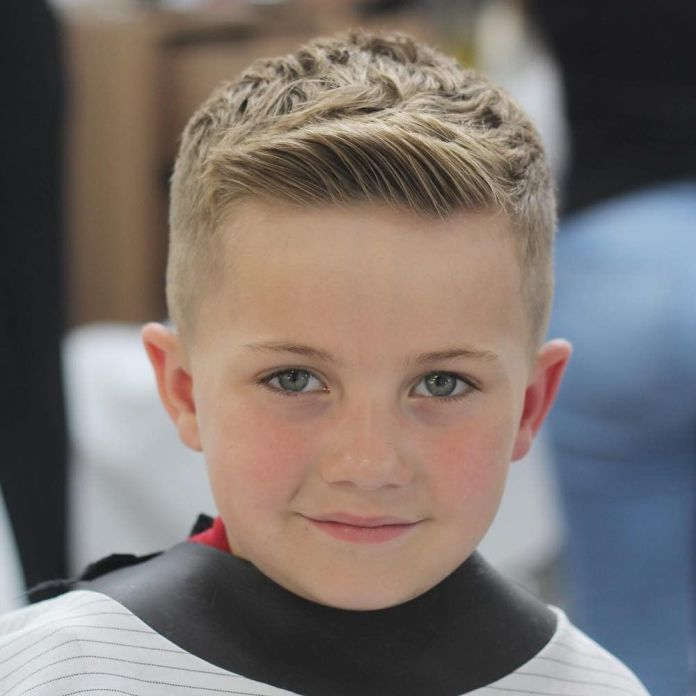 Comb-Over-The-Comb Stylish and Trendy Boys Haircuts 2019