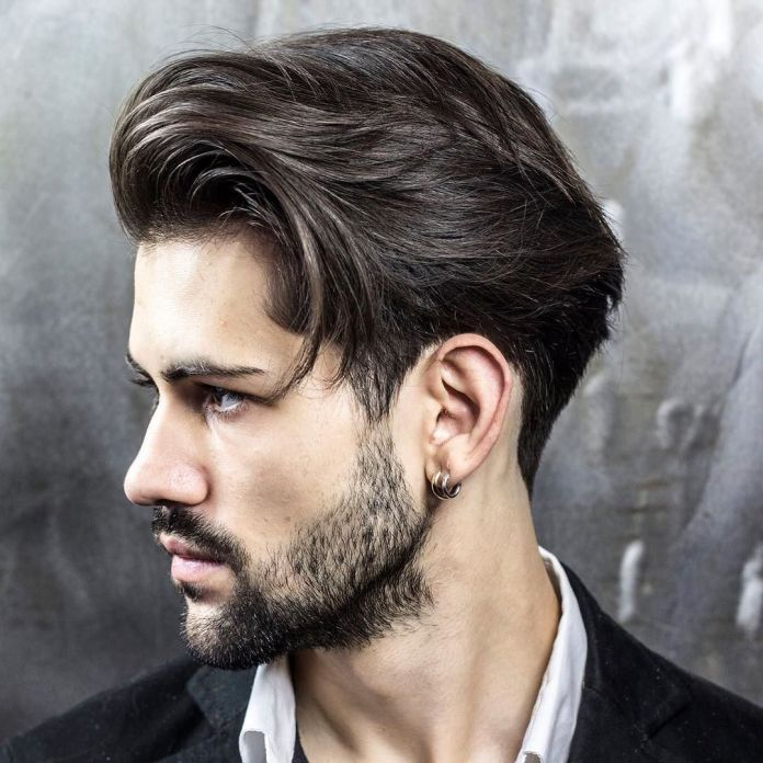 Combed-Back-Mushroom-Cut Insanely Cool Hairstyles for Indian Men