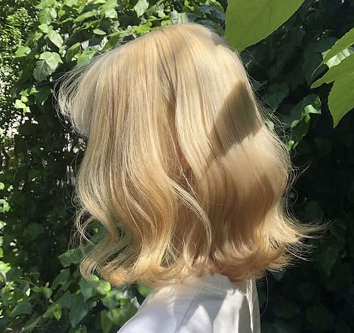 Cute-Blonde Best Short Hair Color Ideas and Trends for Girls