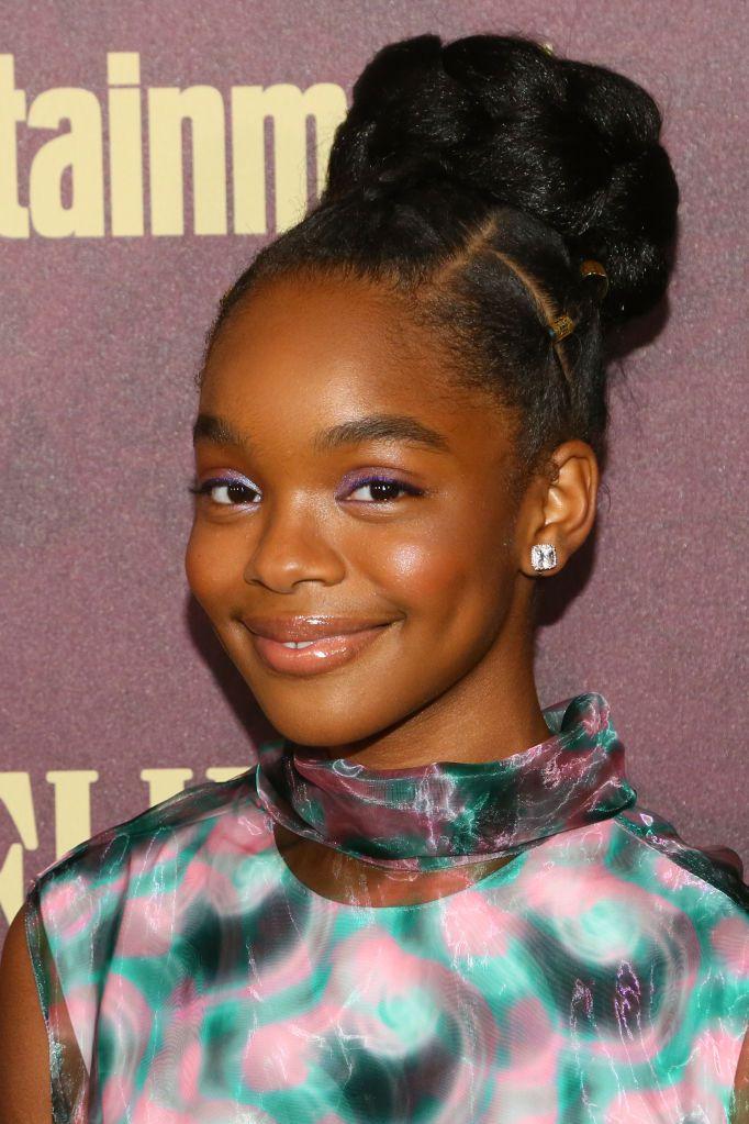 Cute-Bun-Hairstyle Cute and Charismatic Black Girl Hairstyles