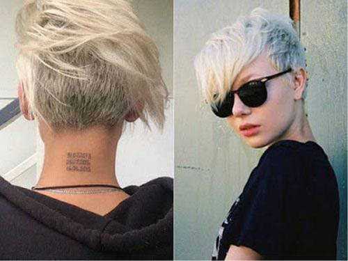 Cute-Color Ideas About Short Pixie Haircuts for Women