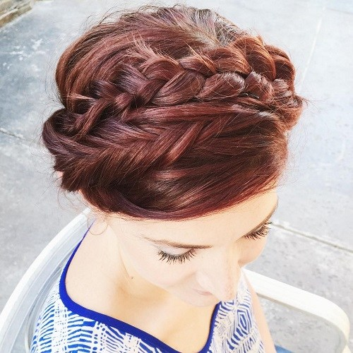 Double-Style Best Milkmaid Hairstyles – Pretty Milkmaid Braid for Women