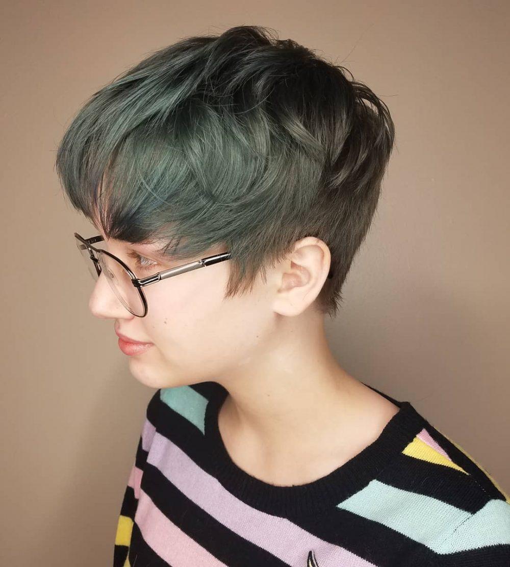 Fringe-Modern-Haircut Marvelous Modern Short Haircuts for Women
