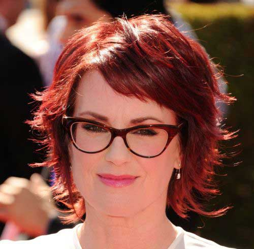 Hairstyle-for-Short-Hair-Over-40 Short Hair Styles for Women Over 40
