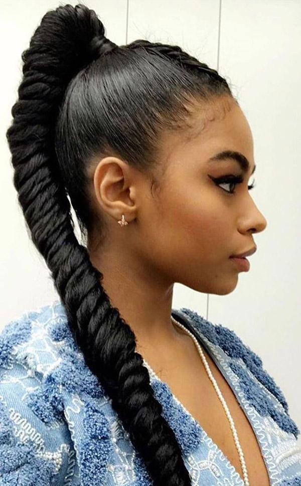 Here-for-a-Business Cute and Charismatic Black Girl Hairstyles