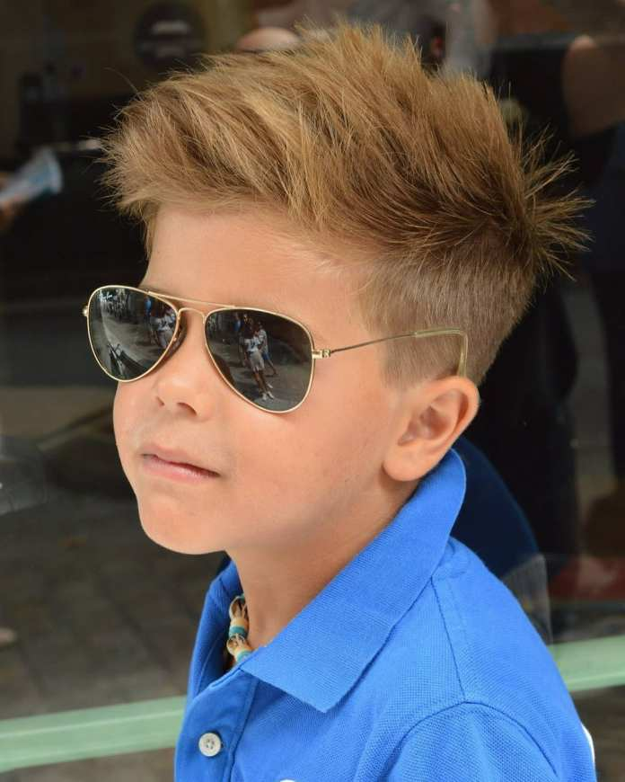 High-Rise-Hairdo-for-Boys Stylish and Trendy Boys Haircuts 2019