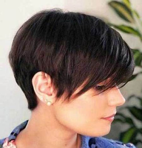 Layered-Long-Pixie-Style Ideas About Short Pixie Haircuts for Women