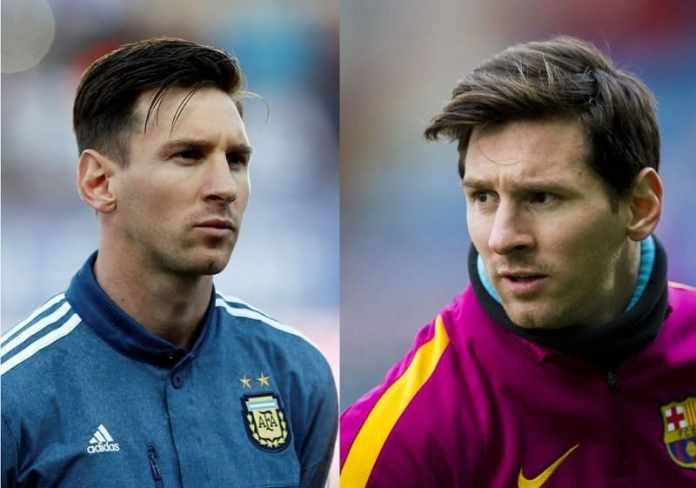 Light-Stubble Lionel Messi Beard Styles That Drive People Crazy