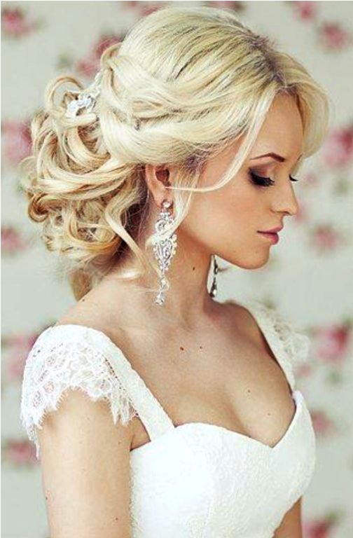 Low-Bun-with-Strands Wedding Hair Ideas for Spring