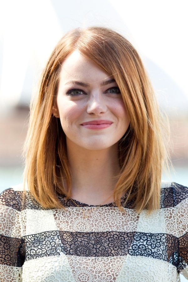 Medium-Bob-with-a-Side-Partition Top Trending Medium Hairstyles for Girls